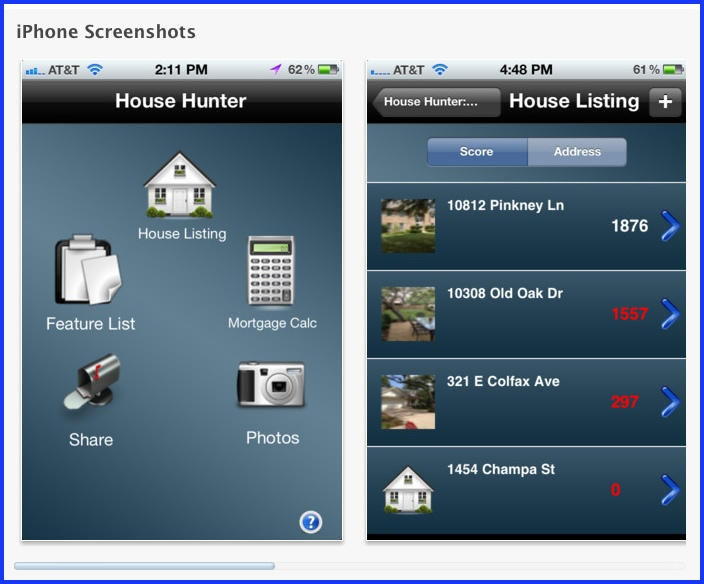 Iphone real estate apps for buyers for Home building apps for iphone